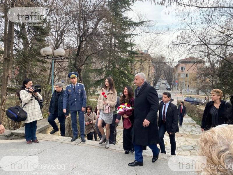 Кметът и ген.-майор Матеев посрещнаха Херо Мустафа в подножието на Бунарджика