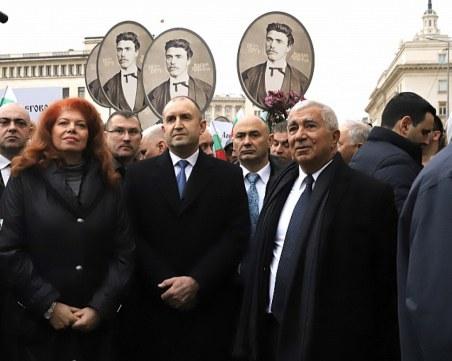 БСП: Никой не може да забрани на президента да води шествия