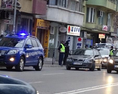 Жандармерия блокира Благоевград