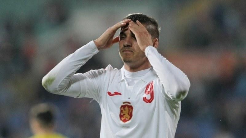 Тежък удар за България! Десподов пропуска баражите