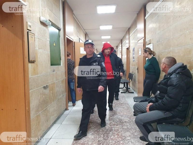 Въпреки самопризнанията на мъжа, хванат с 1 кг хероин: Съдът остави него и жена му зад решетките