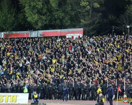 Ботев с важна информация за феновете за мача с ЦСКА