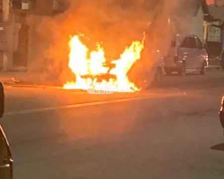 Мъж избяга от болница в Пловдив, подпали колата на сестра си