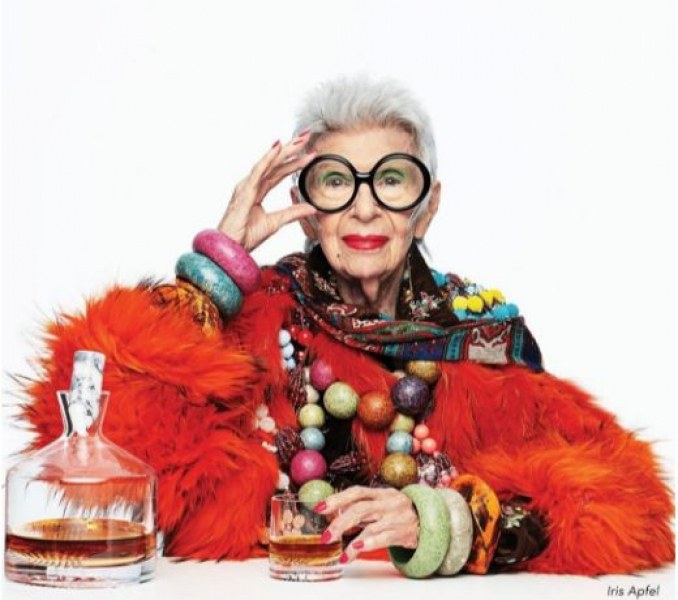 98-годишната Айрис Апфел – стилът й говори вместо нея