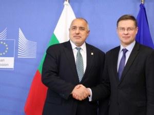 Борисов: Българският парламент е гаранция за курса лев-евро