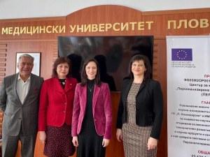 Еврокомисар с висока оценка за медицинското образование в Пловдив