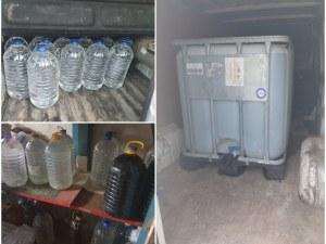 Спецакция в Пловдив! Икономическа полиция откри 3 тона нелегален алкохол в магазин