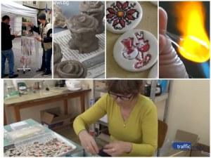 Пловдивчани с увреждания се превърнаха в майстори и художници, изработиха уникални мартеници