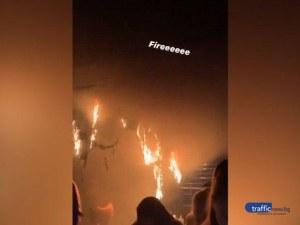 Прокуратурата влиза в горящия Premier live club в Пловдив
