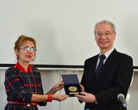 Ректорът на един от най-престижните японски университети дойде в Пловдивски униврситет