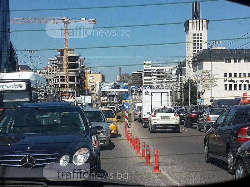 От днес: Затварят част от основен пловдивски булевард за 12 дни