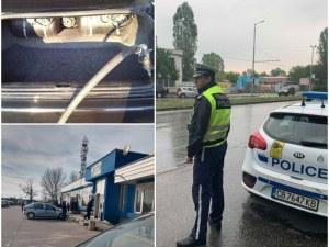 Акция в Пловдив! Полицията погна колите с газови уредби