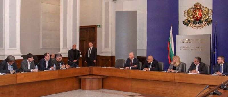 Борисов на среща с превозвачите: Ако не свършите в рамките на тези 7% няма тол система