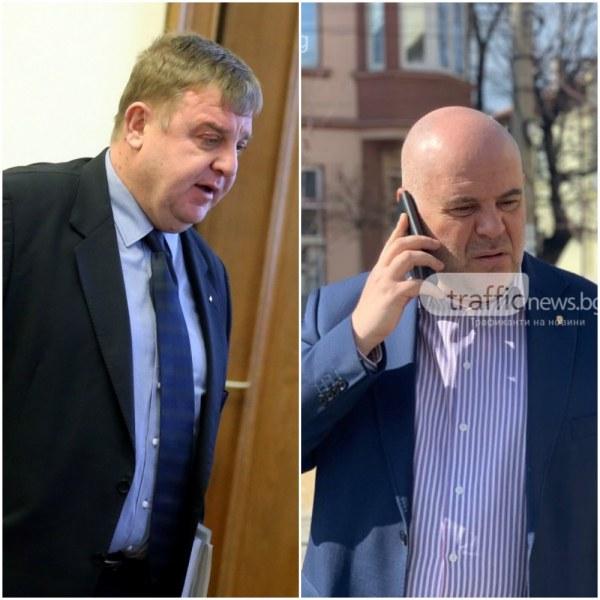 Гешев vs. Каракачанов: Чух, че ни предлагат да ни изпратят танкове, но за съжаление нямаме работещи