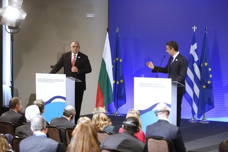 Премиерът Борисов: С колегите от Гърция правим газови магистрали