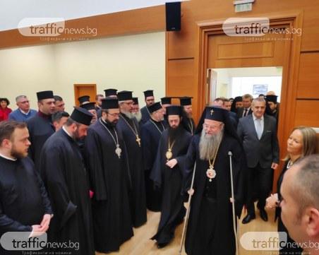 Дядо Николай и три кмета на Пловдив на тържествената сесия на ОБС