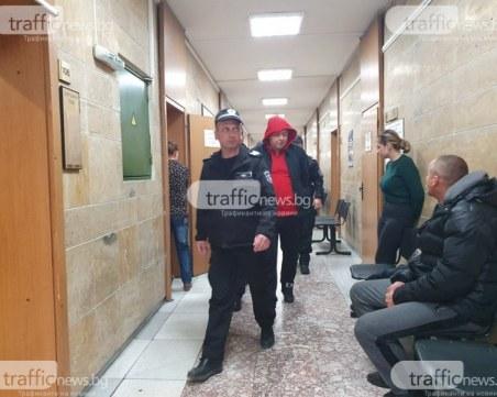 Хванати с 1 кг хероин край Пловдив мъж и жена остават в ареста