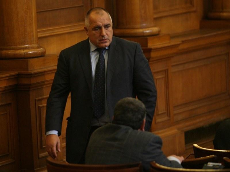 След настояване на БСП: Борисов застава на парламентарната трибуна
