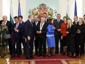 Президентът Румен Радев награди посланика на Молдова