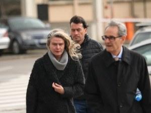 Жената до Божков: Очаквам от съда... всичко