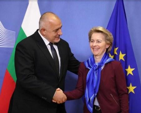 Борисов проведе разговори с лидери на ЕС за ситуацията на границата
