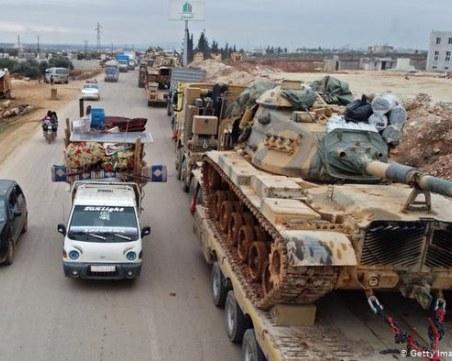 Въздушни атаки в Идлиб! Загинаха 33-ма турски войници