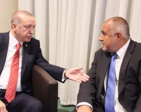 Борисов преди срещата с Ердоган: Отивам на приятелска вечеря с мой колега и приятел