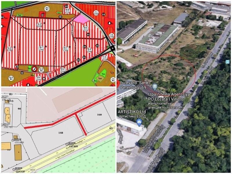 Hi-Tech парк ли? Пловдивски бизнесмен вдига огромен жилищен комплекс в Гладно поле