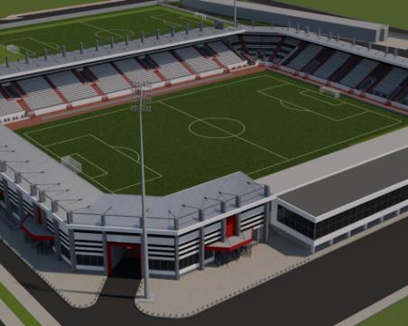 Локо доработва проекта за Лаута, 12-те млн. лева няма да стигнат за стадиона
