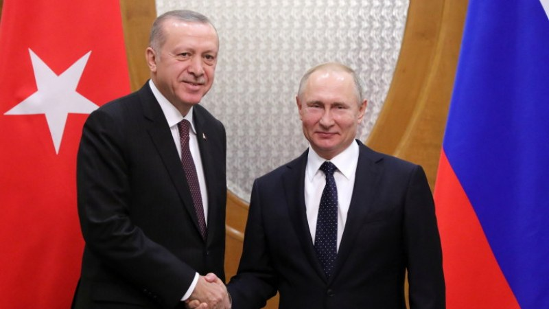 След 6 часа преговори: Путин и Ердоган се разбраха за прекратяване на огъня в Идлиб