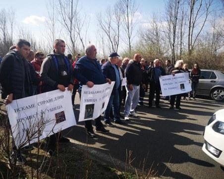 Протест блокира пътя Созопол-Бургас! Близки на двама загинали искат справедливост