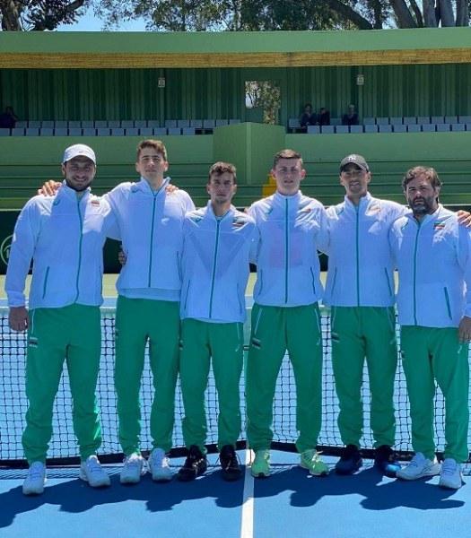 България с убедителна победа за Купа Дейвис