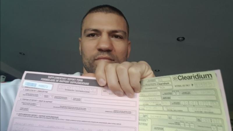 Изненадващ допинг тест за Тервел Пулев