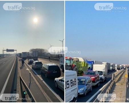 Над 100 български коли и камиони са блокирани в Австрия, не ги пускат да се приберат