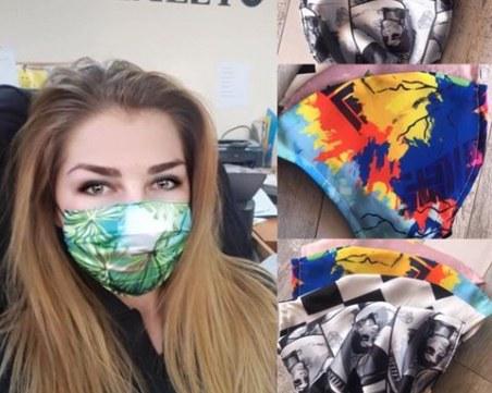 Доброто взима връх! Цех в Пловдив шие 1500 безплатни маски за многократна употреба