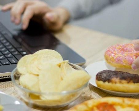 Как да се храните здравословно, докато работите у дома?