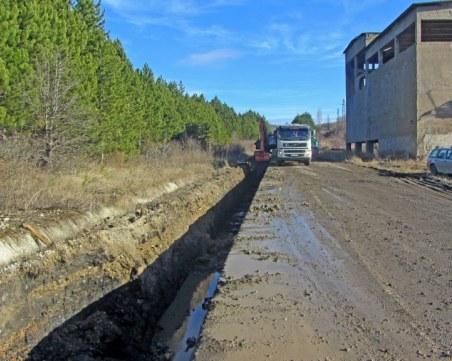 Пак авария на новия водопровод за Перник