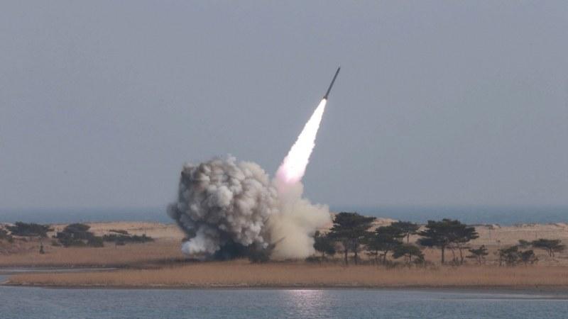 Северна Корея изстреля нови ракети