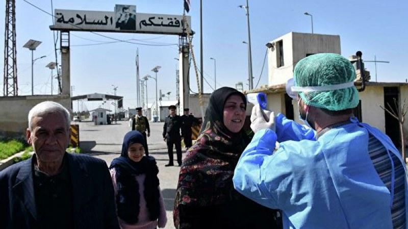 Първи случай на COVID-19 в Сирия