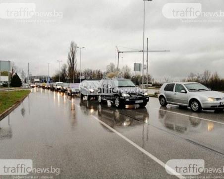 Облекчават трафика по КПП-тата в Пловдив, камиони и бусове – в отделна лента