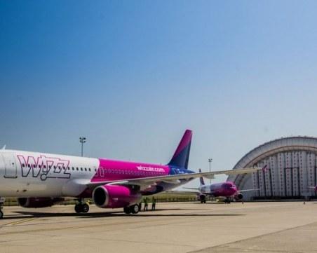 Wizz Air спира всички полети от и до Варна