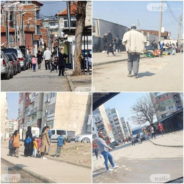 Жители на Столипиново: Хората гладуват, нямат хляб заради мерките