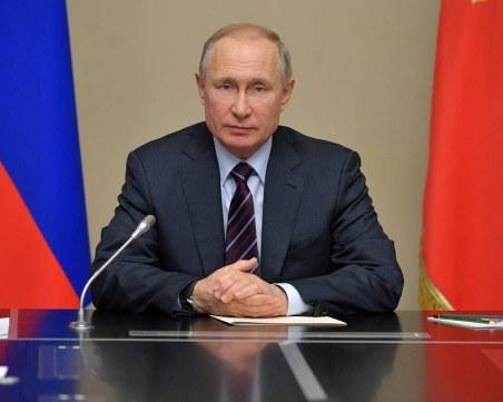 С указ на Путин : Русия спира работа за седмица