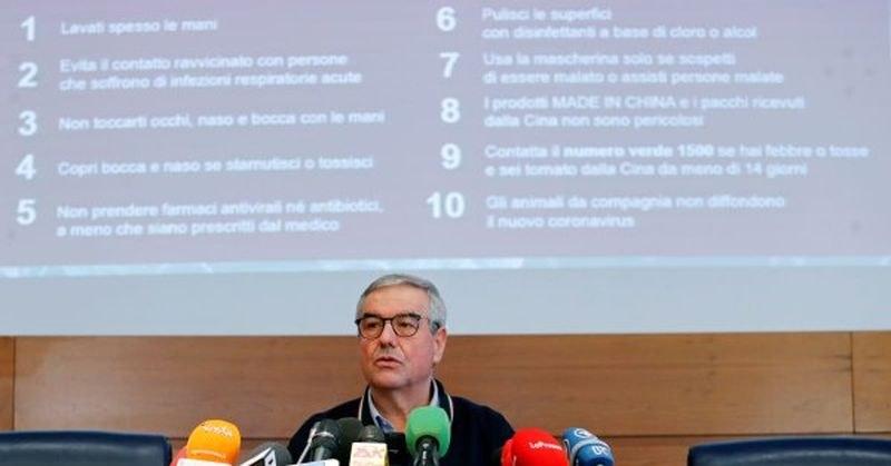 Италия без редовния брифинг за COVID-19, водещият разви симптоми