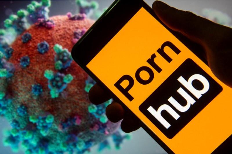 Pornhub става безплатен за седмица и дарява 50 000 маски за борба с коронавируса