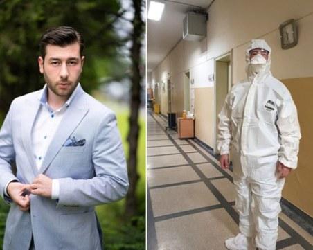 Божидар от Пловдив на помощ на лекарите в Инфекциозна клиника