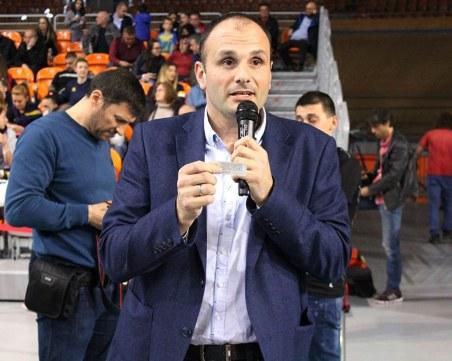 Мениджърът на Марица: Помагам на всички в клуба да си вършат работата