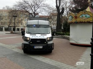 Полиция бди на Главната в Пловдив! Моля, стойте си вкъщи!