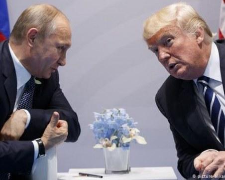 Путин и Тръмп обсъдиха ситуацията на петролния пазар и COVID-19