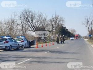 Шофьор се опита да избяга на катаджии, хванаха го на КПП в Пазарджик